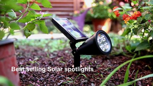 Solar LED Spot Light
